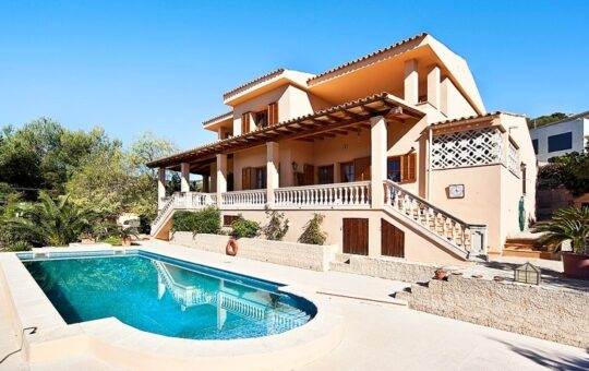 Mediterrane Villa mit Meerblick, Costa d'En Blanes