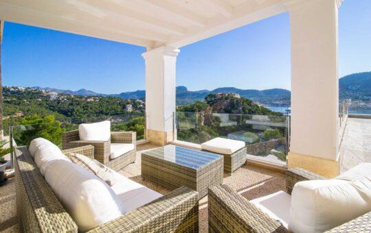Herrliche Villa mit Hafenblick, Puerto de Andratx