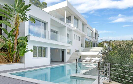 Traumhafte moderne Villa in Costa den Blanes, Costa d'En Blanes