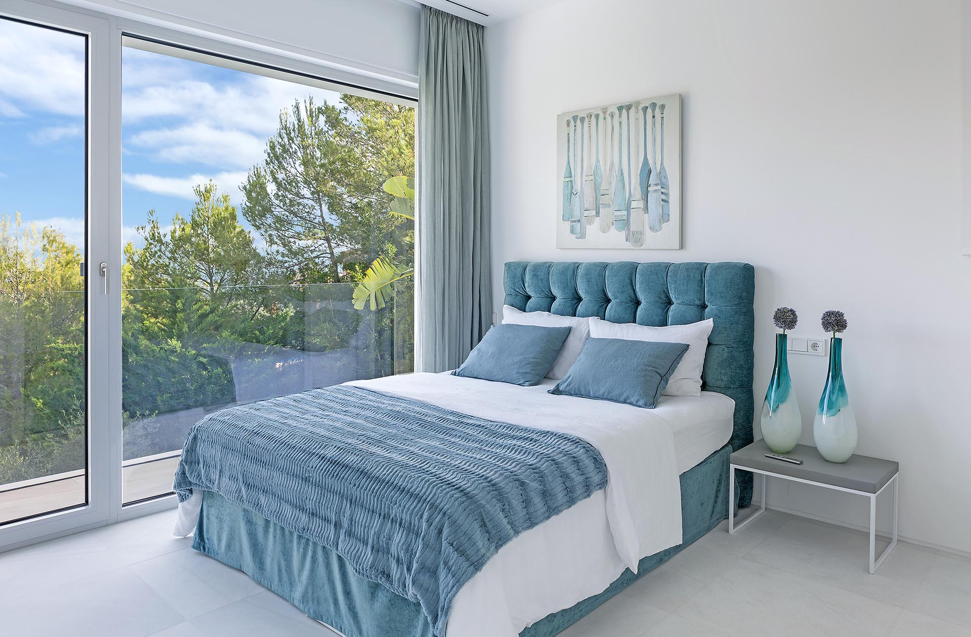 Traumhafte moderne Villa in Costa den Blanes - Gemütliches Ambiente