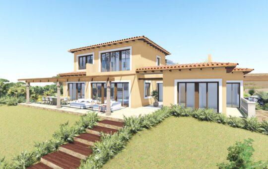 Einmaliges Meerblick-Grundstück mit Baugenehmigung, Calvia - Son Font