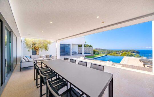 Außergewöhnliche Villa mit fantastischem Meerblick, Santa Ponsa