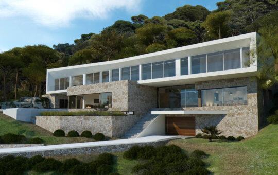 Baugrundstück mit Teilmeerblick in Sol de Mallorca, Sol de Mallorca