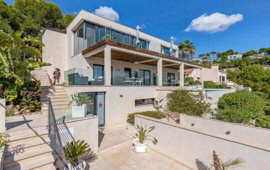 Moderne Villa mit Meerblick in Costa d'en Blanes, Costa d'En Blanes