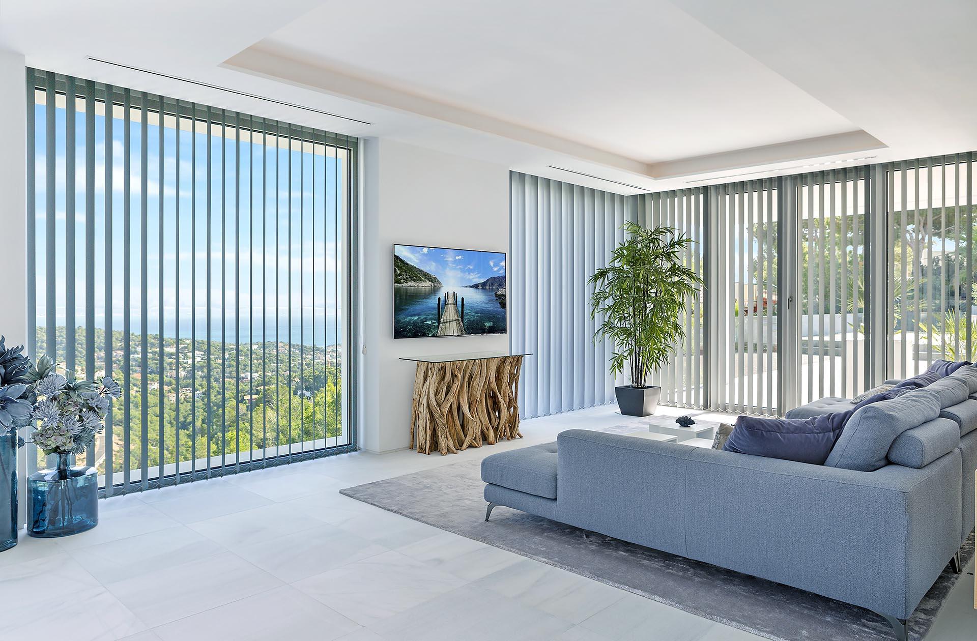 Beautiful modern villa in Costa den Blanes - Beautiful view